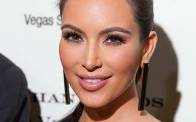 Kim Kardashian pictured at Kardashian Khoas Grand Opening at The Miarge in Las Vegas, NV on December 15, 2011.