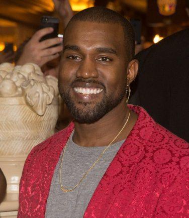 Kanye West at Kim Kardashian's Birthday at TAO Las Vegas