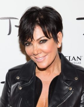 Kris Jenner at Kim Kardashian's Birthday at TAO Las Vegas