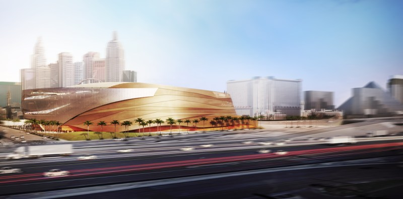 First Renderings of New Las Vegas Arena Unveiled by Project Developers AEG & MGM Resorts International