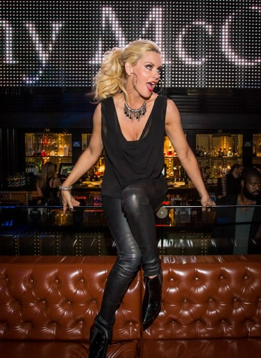 Jenny McCarthy at Body English Nightclub & Afterhours