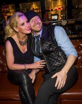 Jenny McCarthyand Donny Wahlberg at Body English Nightclub & Afterhours