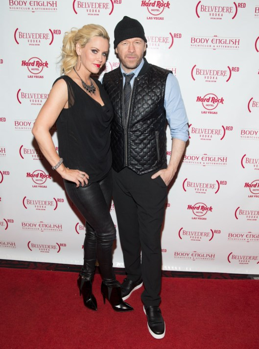 Jenny McCarthy and Donny Wahlberg at Body English Nightclub & Afterhours