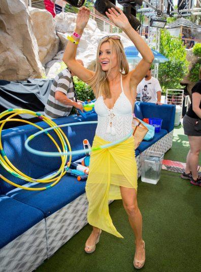 Joanna Krupa hosts at Rehab Pool Party at Hard Rock Hotel in Las Vegas, NV