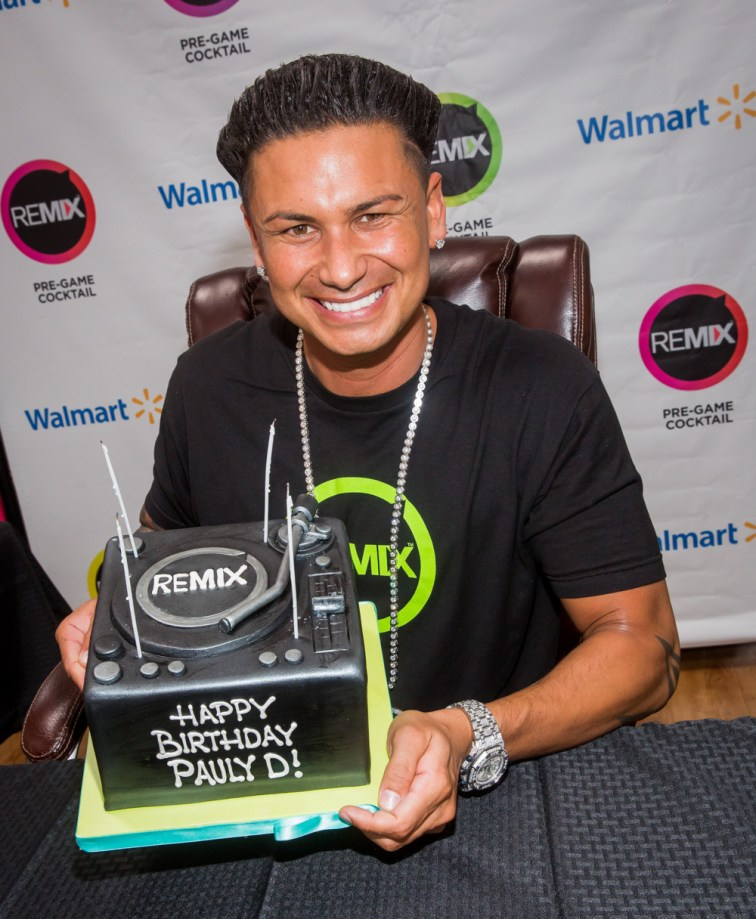 DJ Pauly D Remix Bottle Signing and Birthday Celebration in Las Vegas, Nevada
