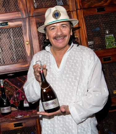 Carlos Santana and Mumm Napa announce Supernatural Rosé in Las Vegas, NV
