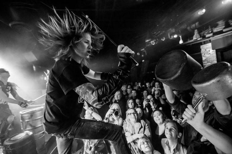 Street Drum Corps - Photo by Erik Kabik