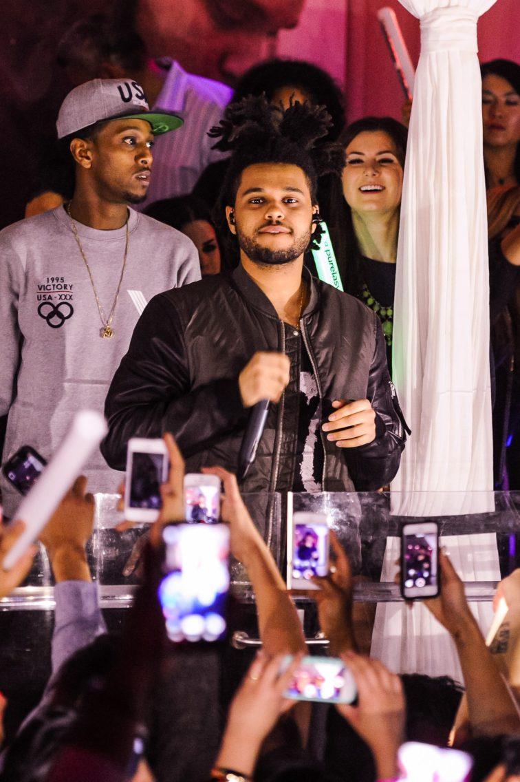 """Abel Tesfaye """"The Weeknd"""" at Pure Nightclub"""