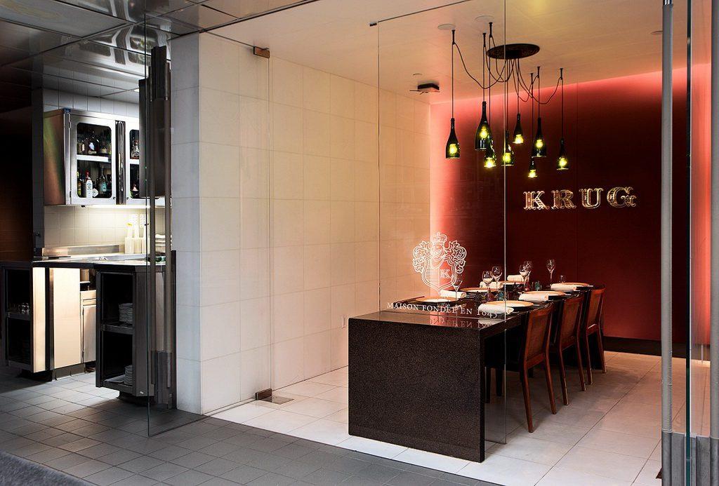 Krug Chef's Table at Restaurant Guy Savoy at Caesars Palace
