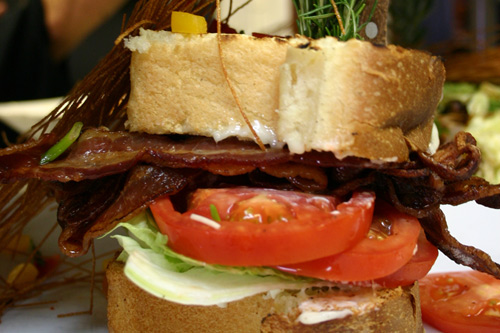 BLT at Hash House A Go Go
