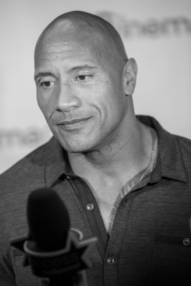 Dwayne Johnson at CinemaCon 2014