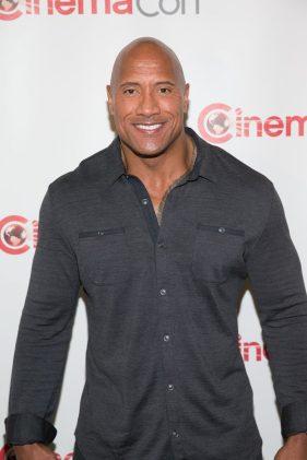 Dwayne Johnson at CinemaCon 2014