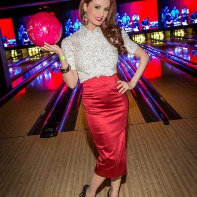 Holly Madison at Brooklyn Bowl Las Vegas