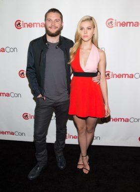 Jack Reynor and Nicola Peltz at CinemaCon 2014