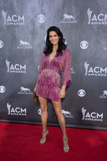 Angie Harmon - 2014 ACM Awards