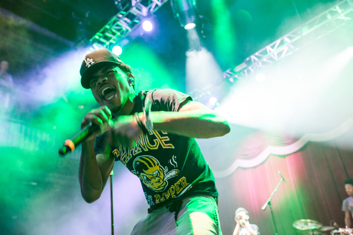 Chance The Rapper at Brooklyn Bowl Las Vegas