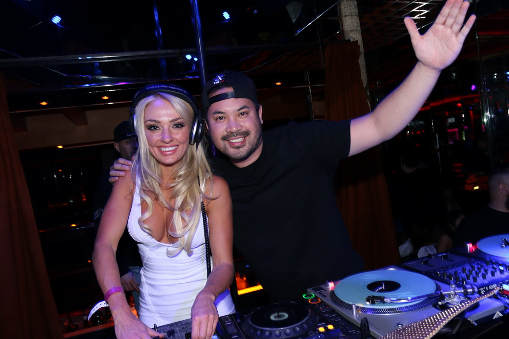 DJ Skratchy and Brooke Evers at Crazy Horse III