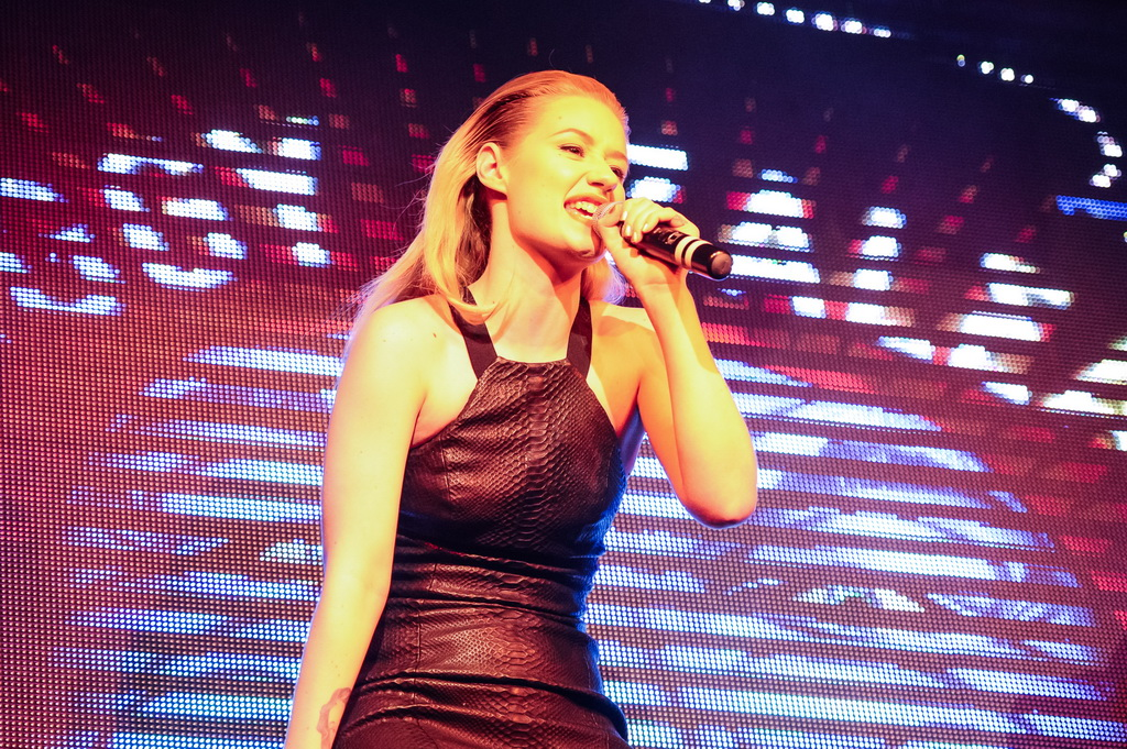Iggy Azalea Performs at TAO Nightclub