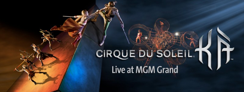 Cirque du Soleil's KA