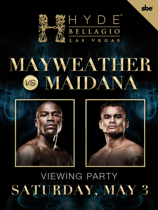 Mayweather Vs. Maidana at Hyde Bellagio