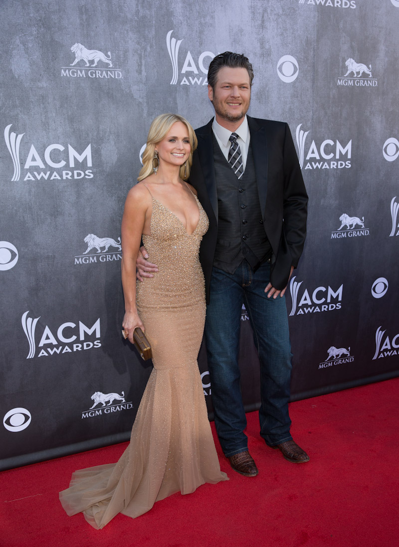 Miranda Lambert and Blake Shelton - 2014 ACM Awards