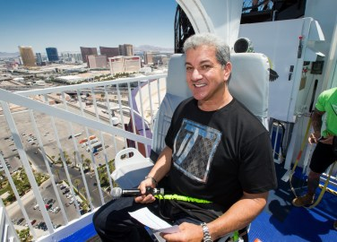 Bruce Buffer at VooDoo Zip Line