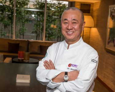 Chef Nobu Matsuhisa at Vegas Uncork'd
