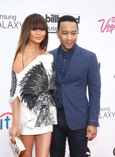 Chrissy Teigen & John Legend at 2014 Billboard Music Awards