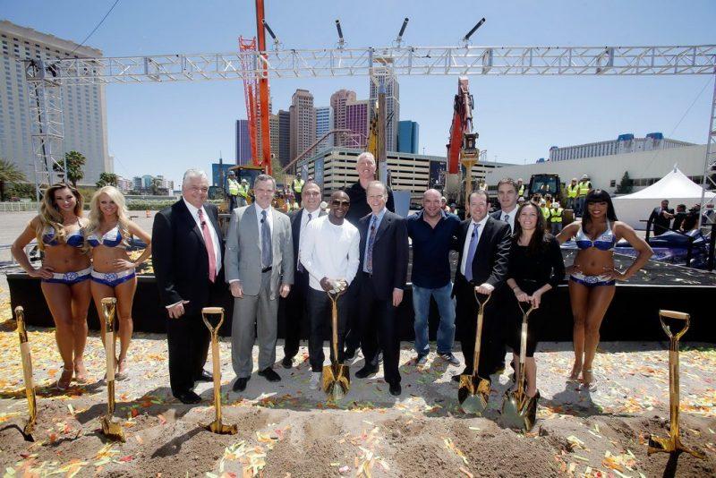 MGM Resorts And AEG Break Ground On New Las Vegas Arena