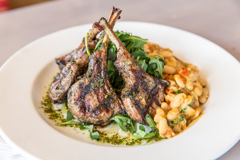 Grilled Lamb Chops at Sammy's Social Club & Glenmorangie Distillery