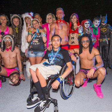 EDC 2014 - Barrie Martelle for Insomniac - Under The Electric Sky Cast