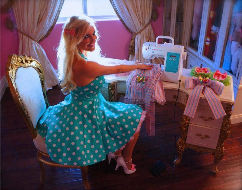 Bridget Marquardt Hand Sewing Apron