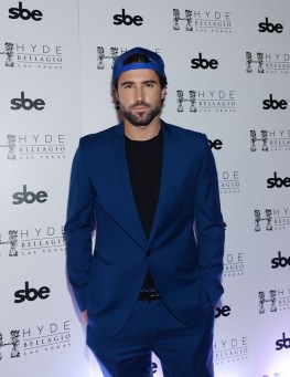 Brody Jenner prepares for DJ performance at Hyde Bellagio