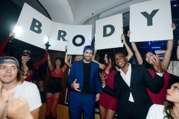 Brody Jenner receives a warm welcome at Hyde Bellagio