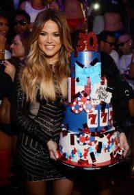 Khloe Kardashian Celebrates Her 30th Birthday At TAO Nightclub