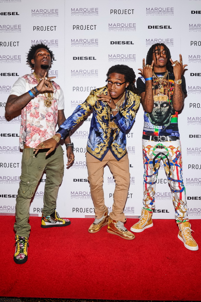 "Offset, Takeoff, and Quavo of ""Migos"""