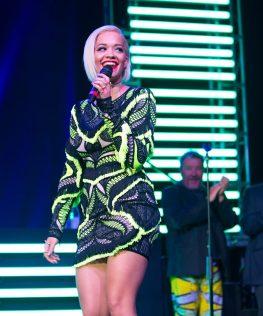 Rita Ora at SLS Las Vegas Grand Opening