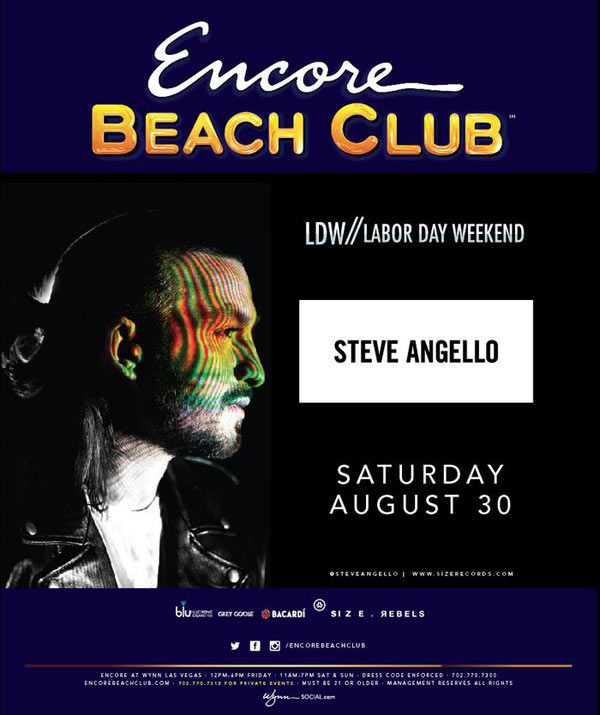 Steve Angello at Encore Beach Club
