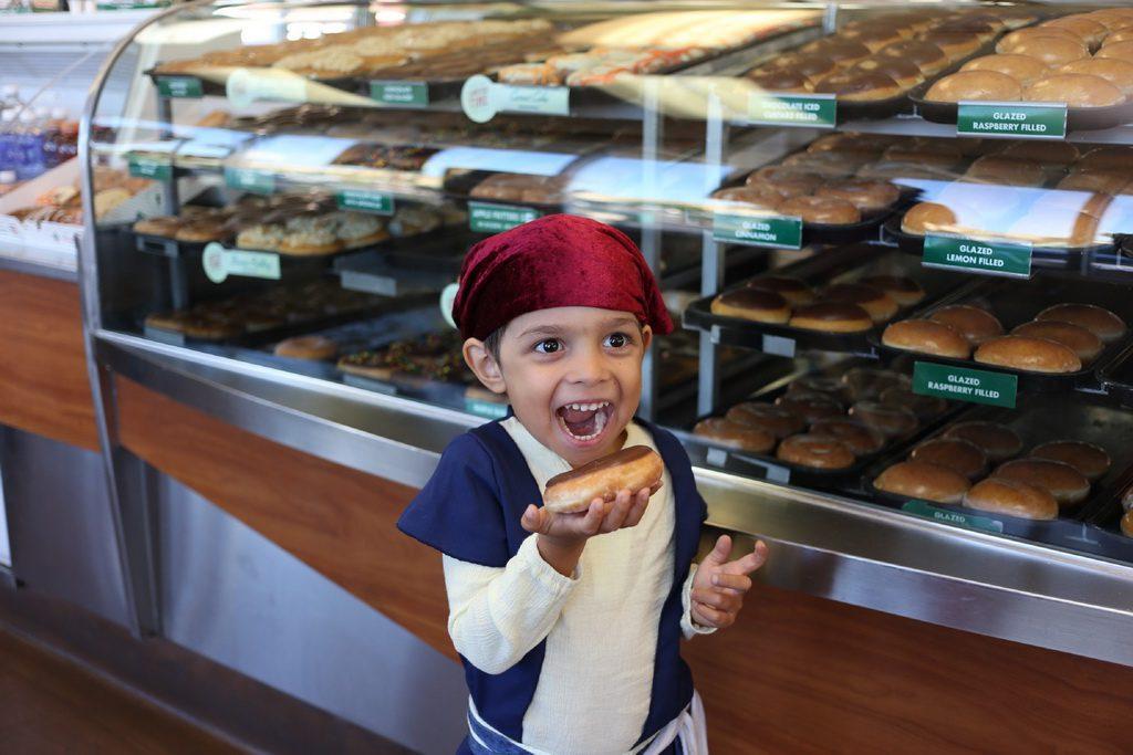 Talk Like A Pirate Day at Krispy Kreme