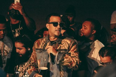 French Montana at Vanity inside Hard Rock Hotel - Photo credit Adam Amar