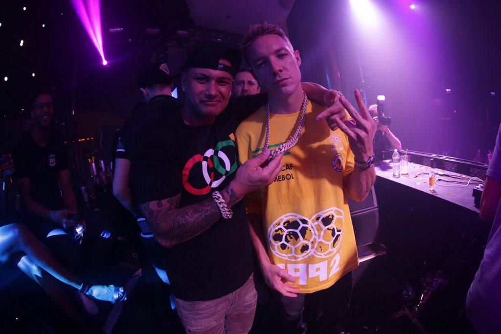 DJ Pauly D & Diplo at XS 2