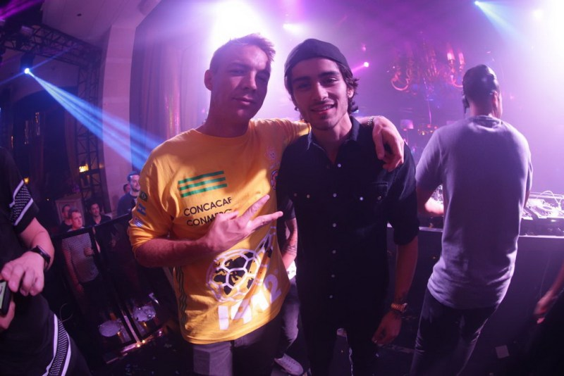 Diplo & Zayn Malik at XS