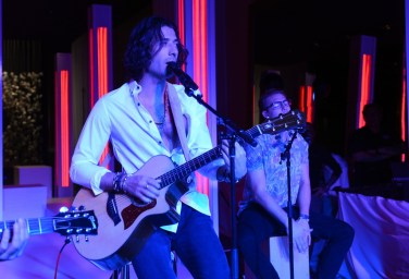 Magic! surprises guests at Delano Las Vegas' grand opening with a pop-up performance