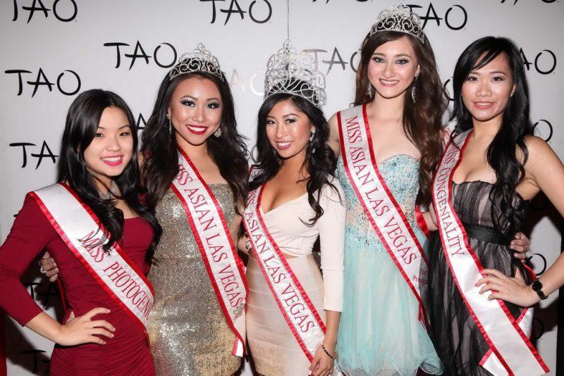 Michelle Jeon, Connie Tsang, Catherine Ho, Alexandra Drechsler, Grace Choy at TAO