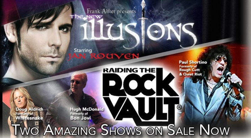 Tropicana Las Vegas - New Illusions & Raiding the Rock Vault