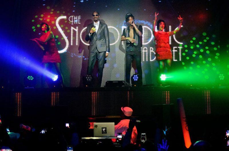 Snoop Dogg and Wiz Khalifa Performing at TAO