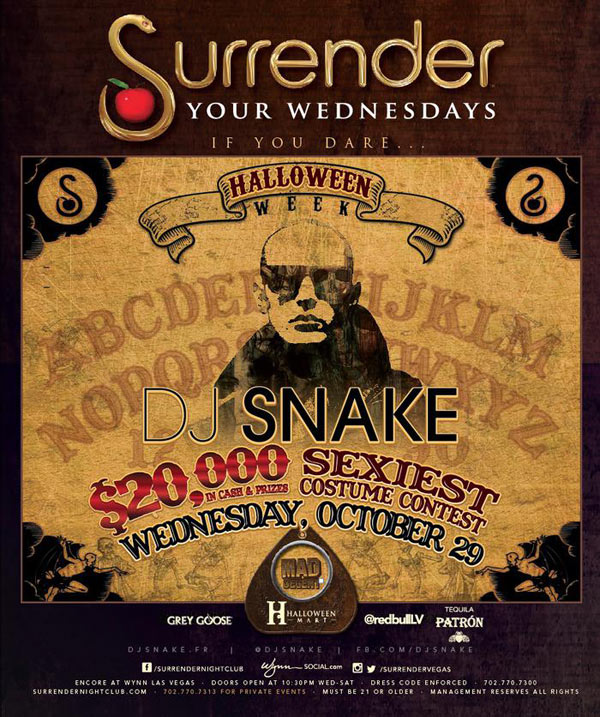 DJ Snake at Surrender Nightclub