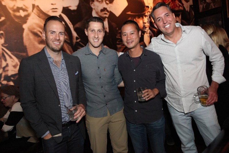 Justin Weniger, Jonathan Jossel, Tony Hsieh, and Fred Mossler