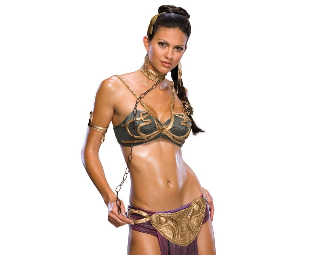 Top 10 Sexy Halloween Costumes - Sexy Princess Leia Slave Costume