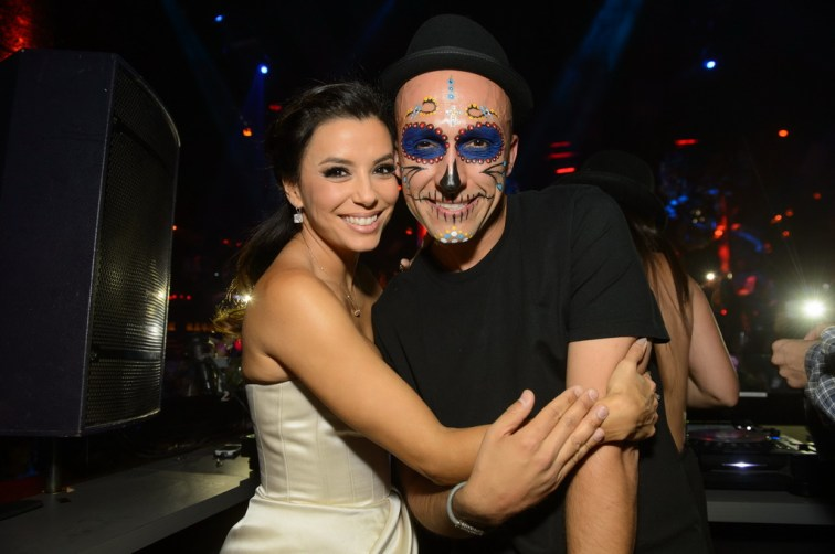 Eva Longoria and DJ Vice at TAO